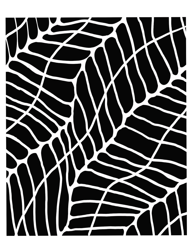Inroads stencil 8x10