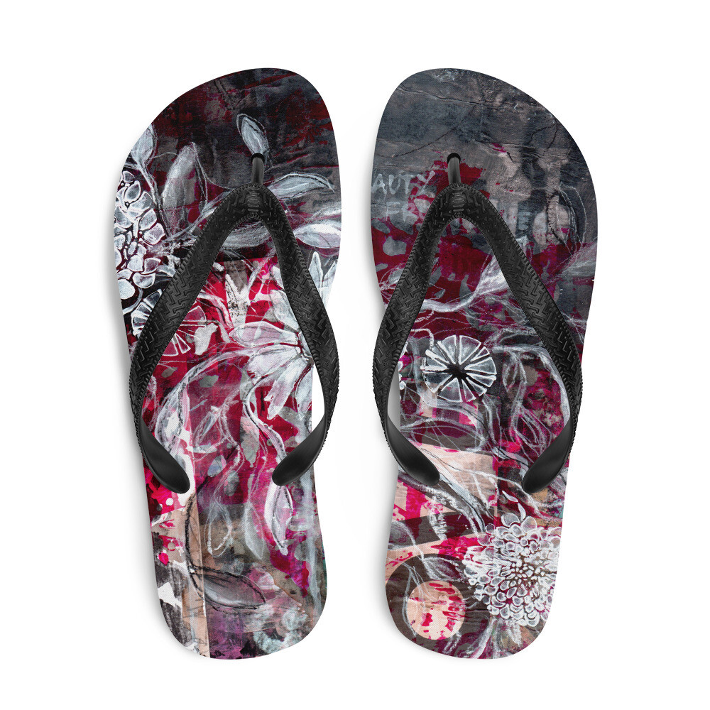 Beauty from the Ashes Flip-Flops
