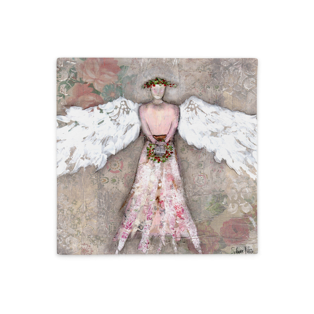 Angel of Peace Basic Pillow