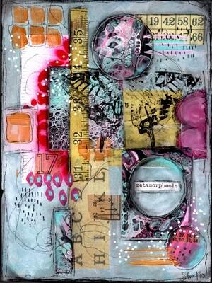 """""""Metamorphosis"""" Print on Wood and Print to be Framed"""
