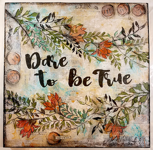 Dare to be True collage pak for Sunday Inspiration 9-17-17 ***PRINTED VERSION*** 8 pages
