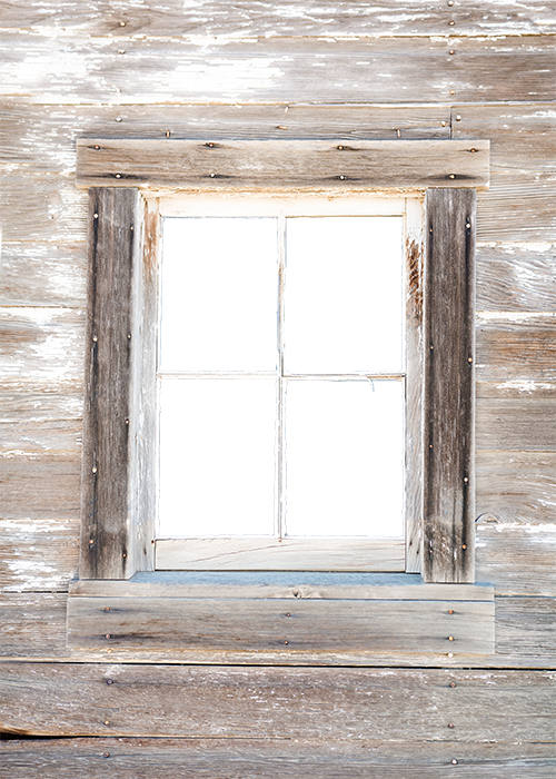 Vintage Window collage pak 5 pages instant download