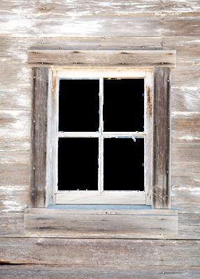 Vintage Window collage pak 5 pages ***PRINTED VERSION***
