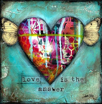 """""""Love is the Answer"""" Print on Wood and Print to be Framed"""