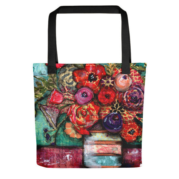 Peace bright flower Tote Bag