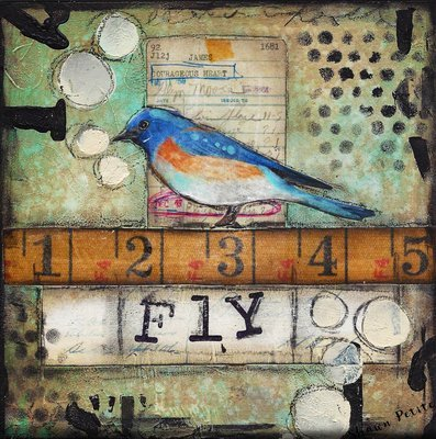 """""""Fly bird"""" Print on Wood and Print to be Framed"""