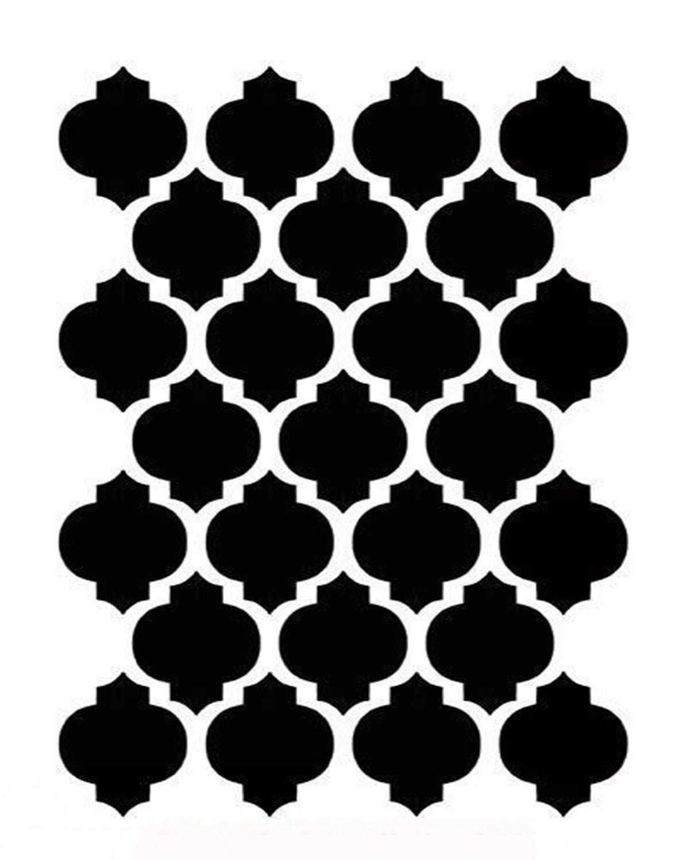 Mediterranean 1 stencil 8x10