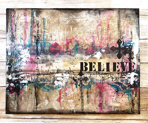 """Believe"" Print on wood or Print to be Framed"