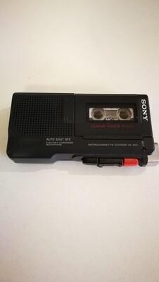 Audio recorder registratore Sony M-450