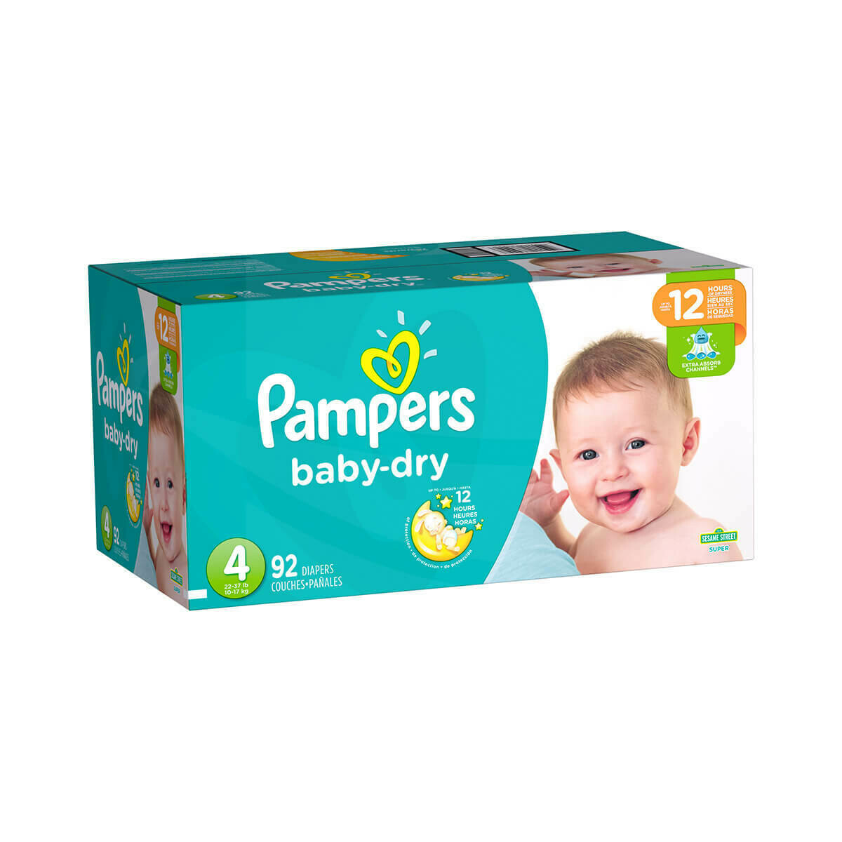 Pampers talla 4 (92 unidades)