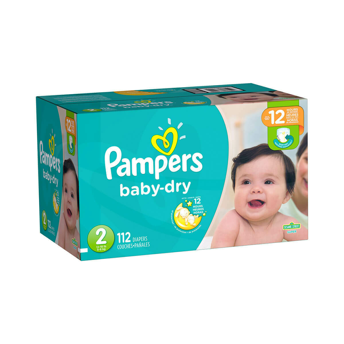 Pampers talla 2 (112 unidades)