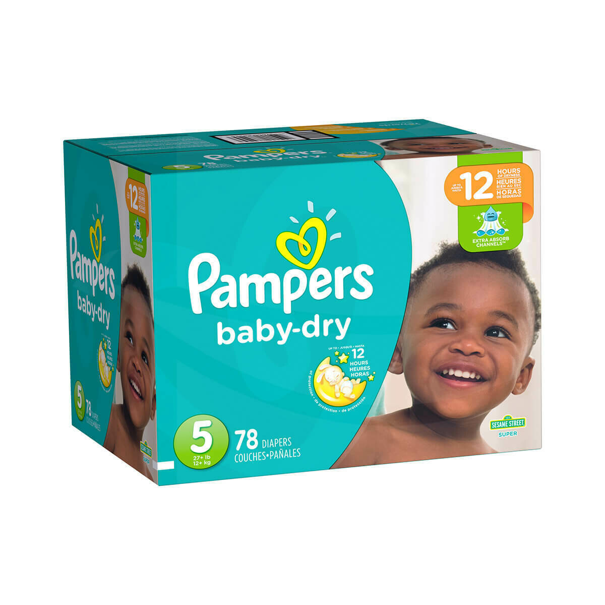 Pampers talla 5 (78 unidades)