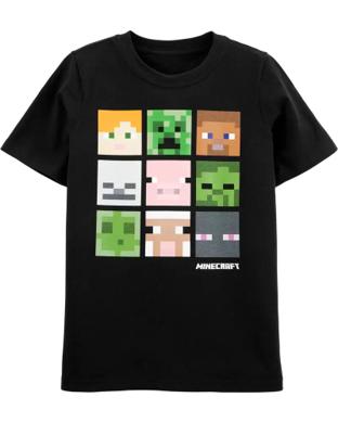 Camisa Minecraft, 8 años