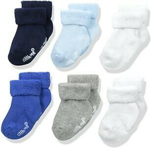 Set 6 pares de calcetines, 6-12 meses