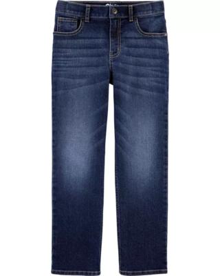 Jeans Corte Slim, 6 años