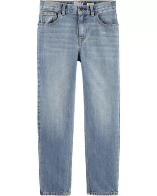 Jeans Corte Regular, 7 años