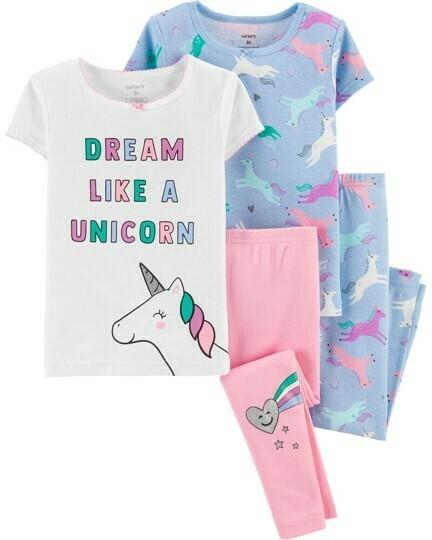 Set 4 pz, Pijama, 2 años