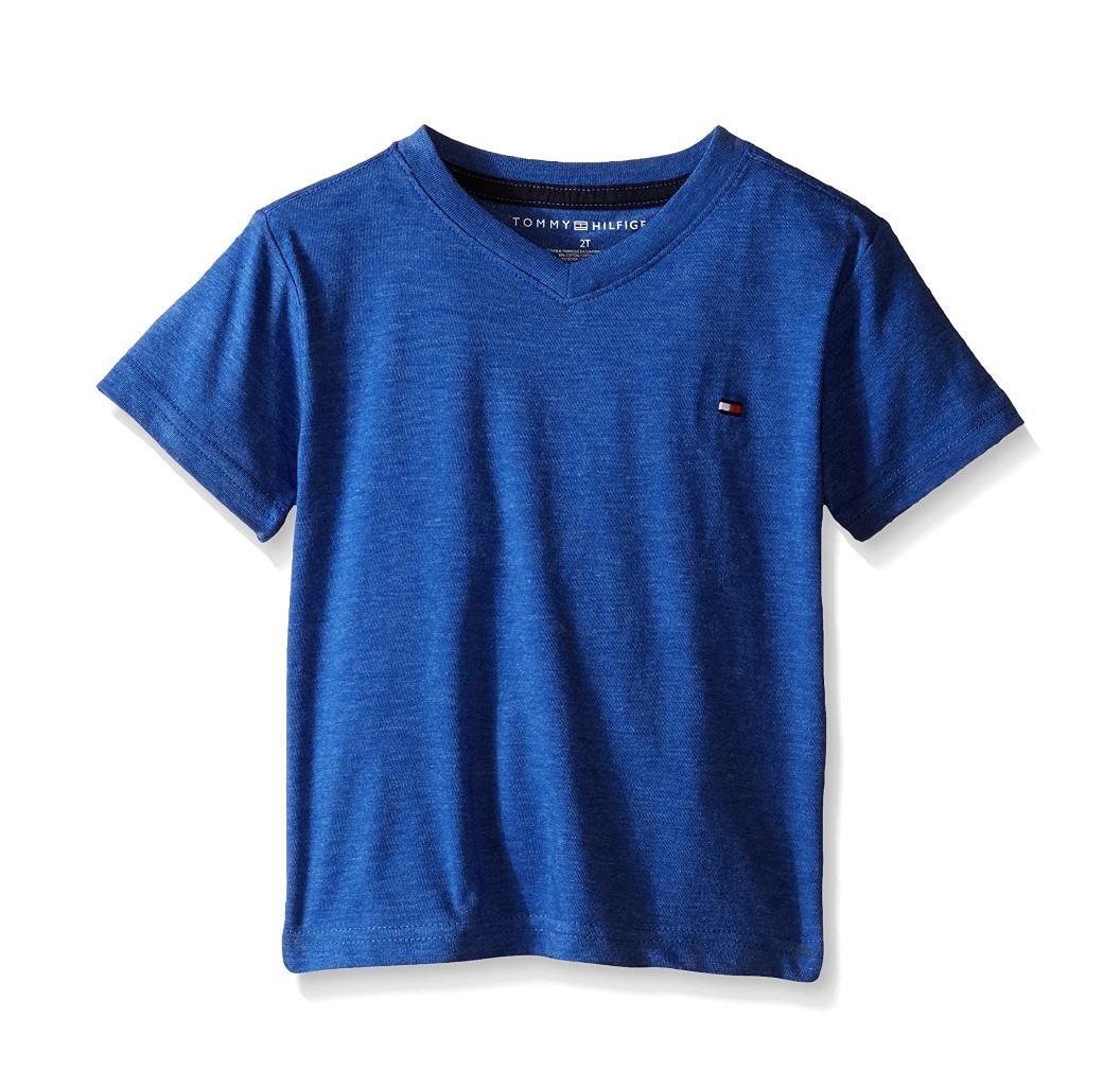 Camisa Tommy Hilfiger Azul, Talla 6 años