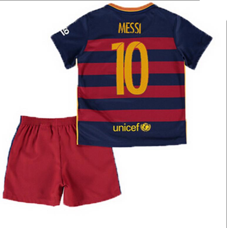 Conjunto FC Barcelona Messi talla 4-5 años