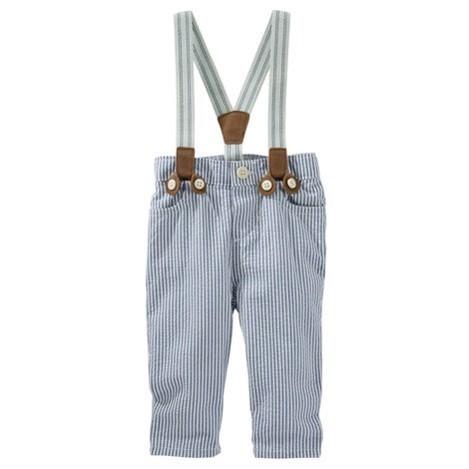 Pantalón con tirantes, 9 meses