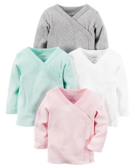 Set 4 camisetas, newborn