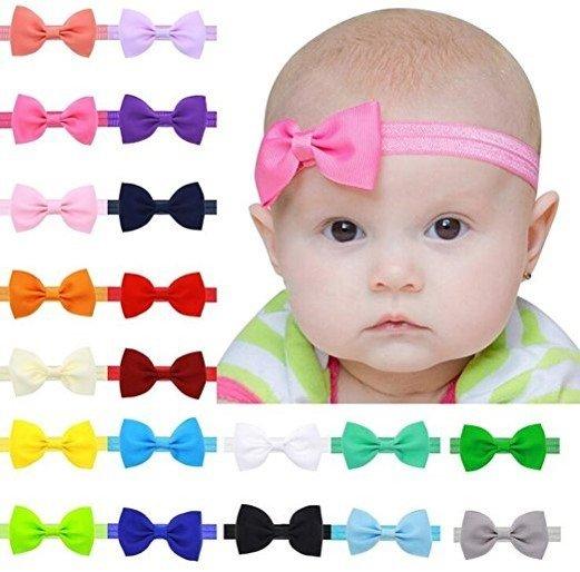 Set de headbands, 20 pz