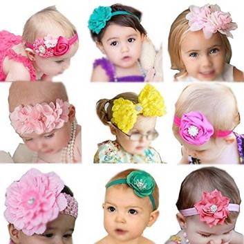 Set de headbands, 9 pz