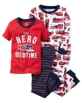 Pijama 4 pz, 18 meses