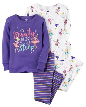 Pijama 4 pz, 2 años