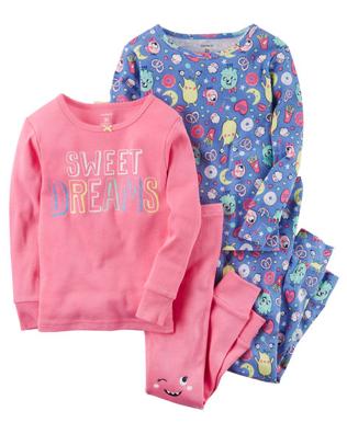 Pijama 4 pz, 3 años