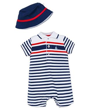 Romper + sombrero, 6 meses