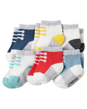 Set 6 calcetines, 12-24 meses