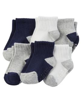 Set 6 pares calcetines, 4 -6 años