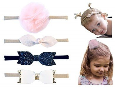 Set de headbands, 4 pz