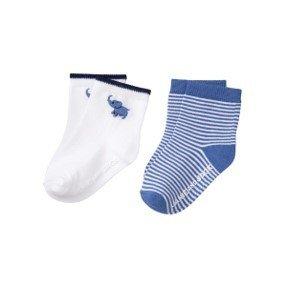 Set 2 pares calcetines, 12-18m