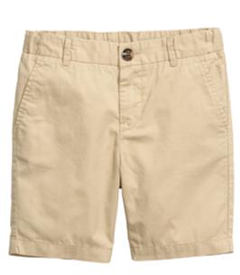 Shorts 4 años