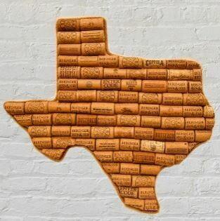 State of Texas Cork Art