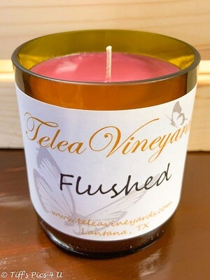 Flushed Candle