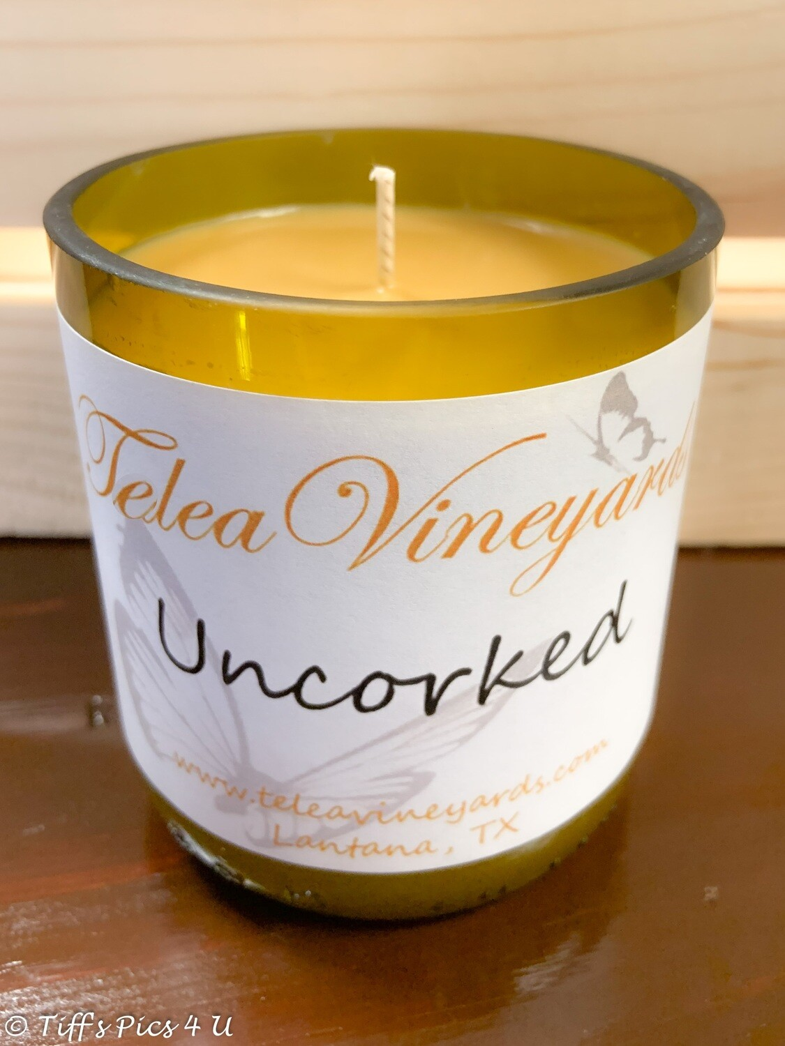 Uncorked Candle