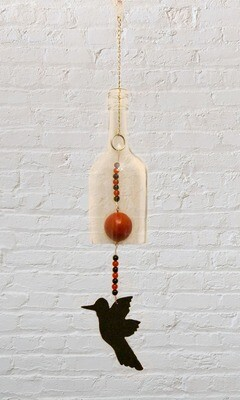 Hummingbird Wine Chime
