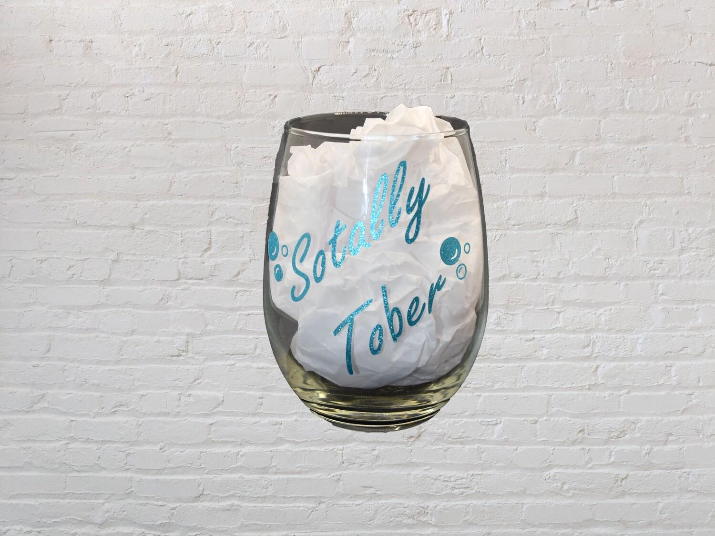 Sotally Tober Drink Glass