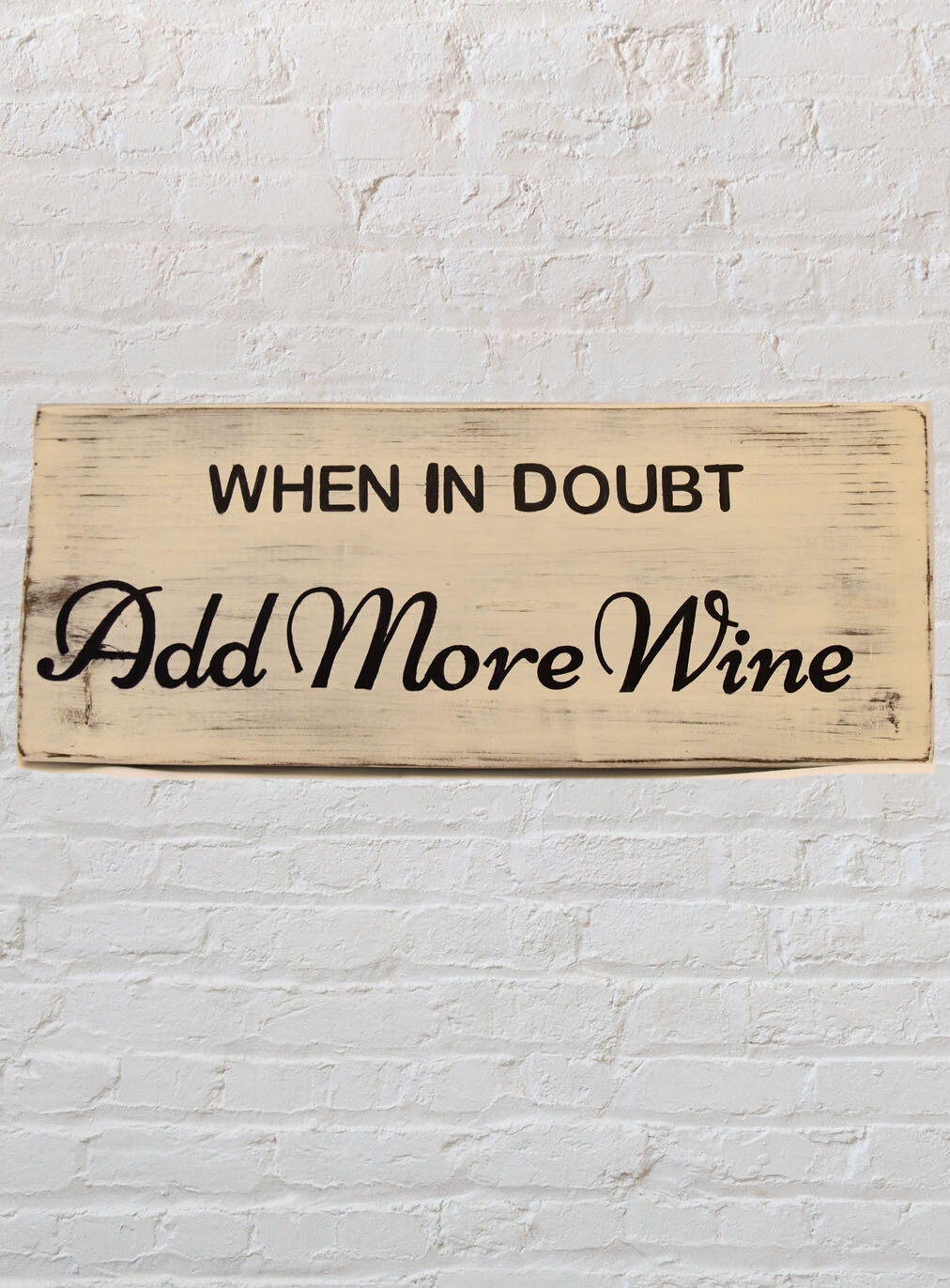 When in Doubt, Add More Wine