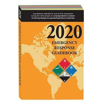 2020 Emergency Response Guidebook (ERG) - Pocketbook