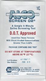 Alcohol Saliva Tester