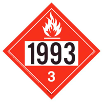 NA1993 Placard