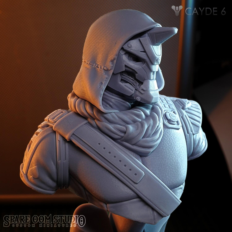 Cayde-6 STL