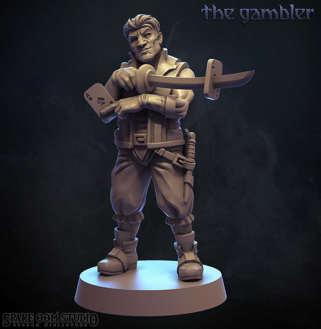 The Gambler-Talisman STL