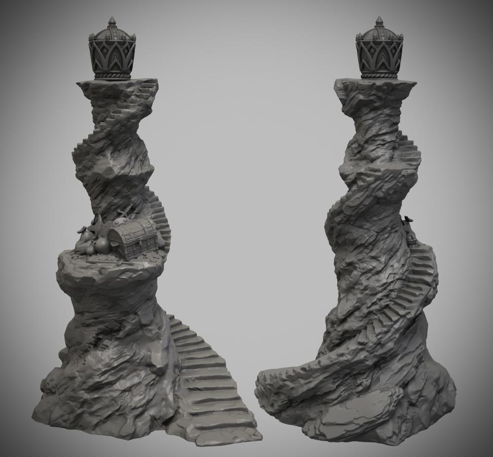 Talisman Crown Of Command STL DIGITAL DOWNLOAD