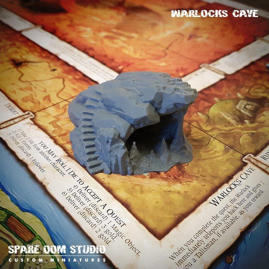 Talisman Warlocks Cave DIGITAL DOWNLOAD STL