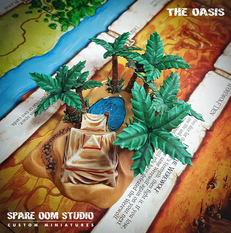 Talisman The Oasis STL DIGITAL DOWNLOAD